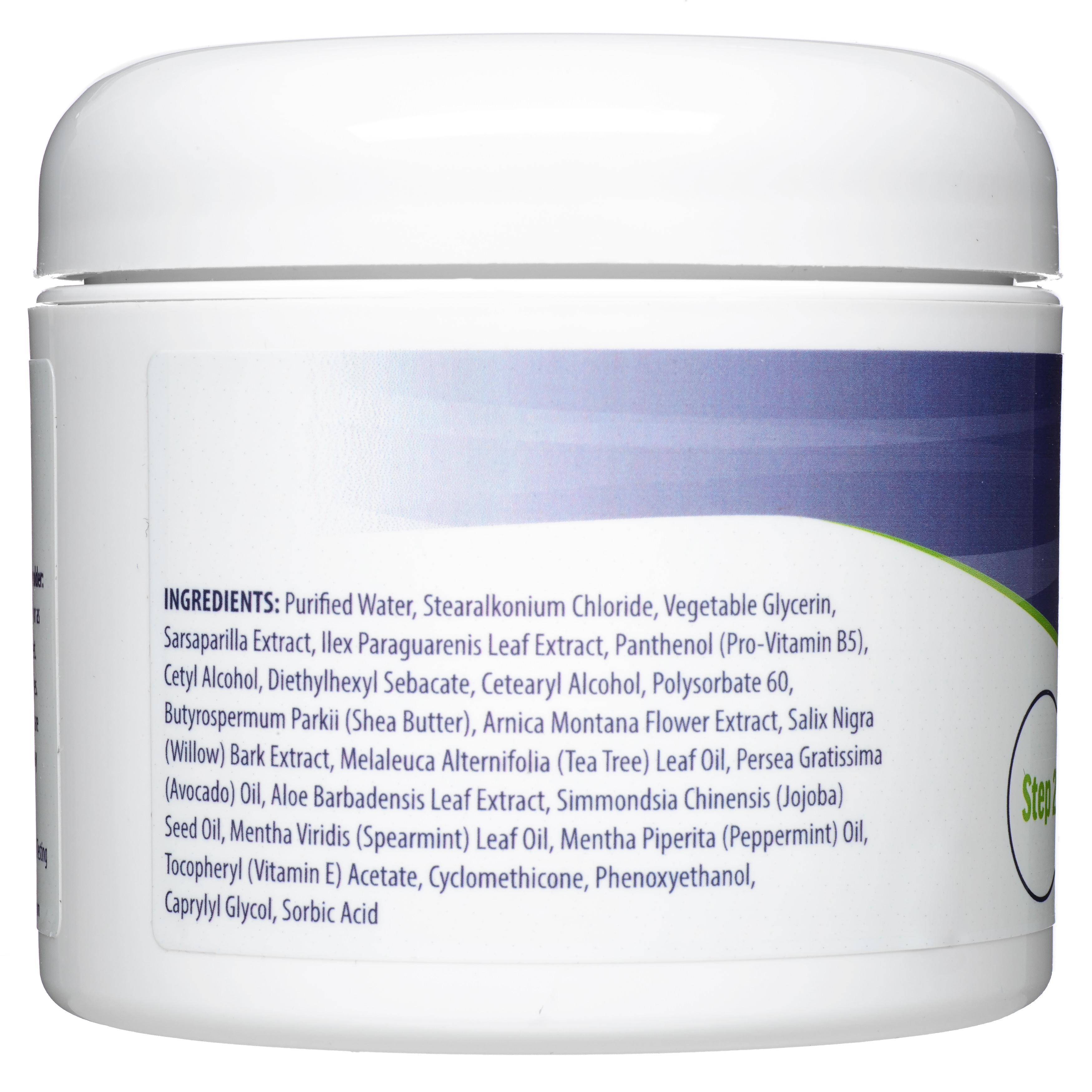 Bunion Balm Night Formulation Label Ingredients